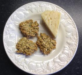 Oaty savory biscuits