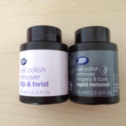 Boots polish remover