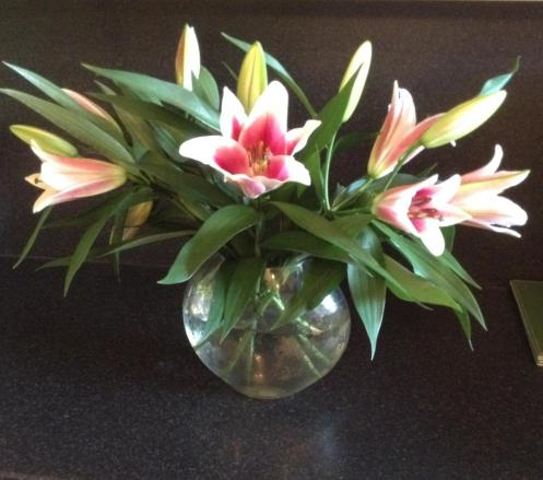 Bday lilies